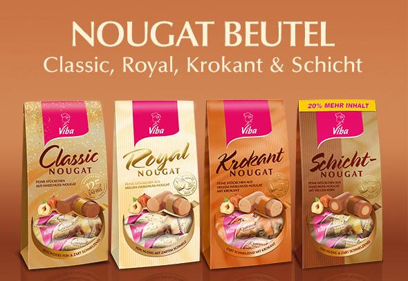 teilnehmende Produkte für Gewinnspiel Aktion: Nougat Beutel