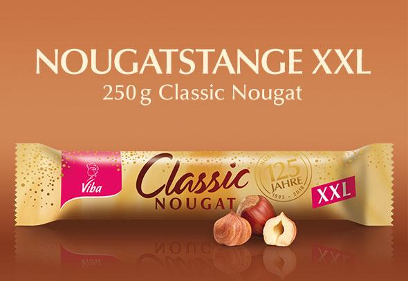 teilnehmendes Produkt für Gewinnspiel Aktion: Nougatstange XXL