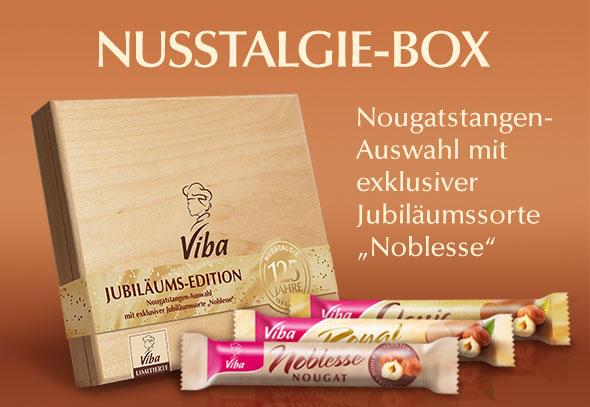 teilnehmendes Produkt für Gewinnspiel Aktion: Nusslagie-Box