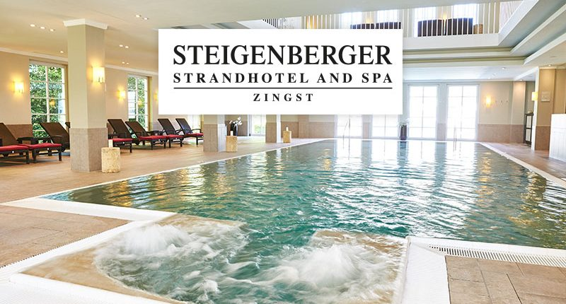 Wellness-Reise von Steigenberger - Pool im Hotel Zingst