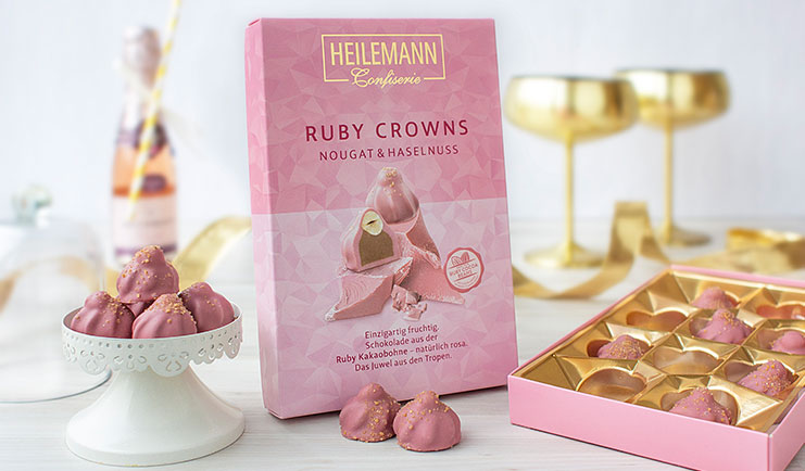 Ruby Chocolate Crowns