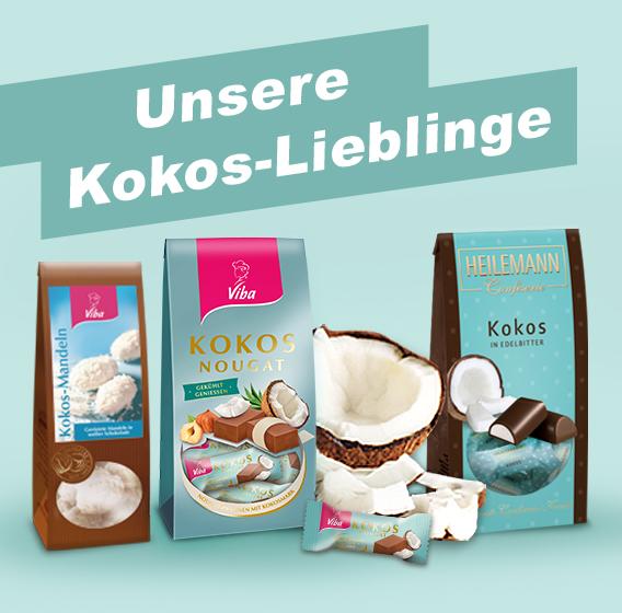 Jetzt am Gewinnspiel teilnehmen und mit etwas Glück ein Kokos-Lieblinge Genießerpaket gewinnen.