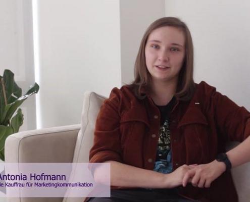 Antonia im Interview