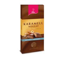 Nougat-Schokolade Karamell Salz