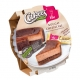 Verpackter Nougat Cheesecake von Cakees mit Viba Classic Nougat