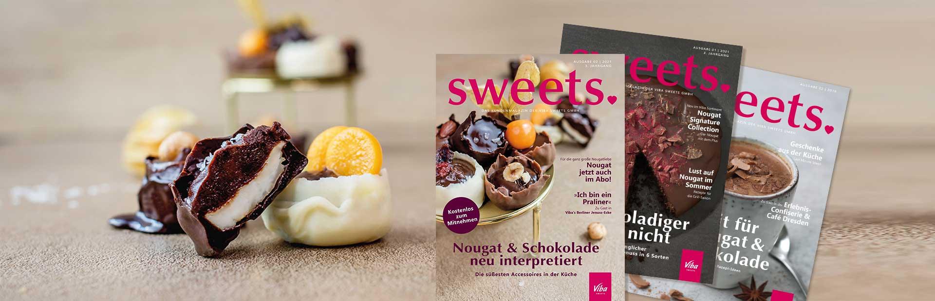 Kundenmagazine sweets. im Überblick